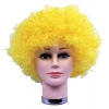 Wig Curly Clown Yellow  Budget